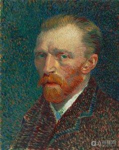 Self Portrait 42*33.7 cm 1886-1887 Oil on board